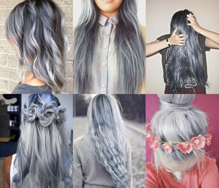 Gray Hairstyles For Long Hair Pictures Photos And Images For