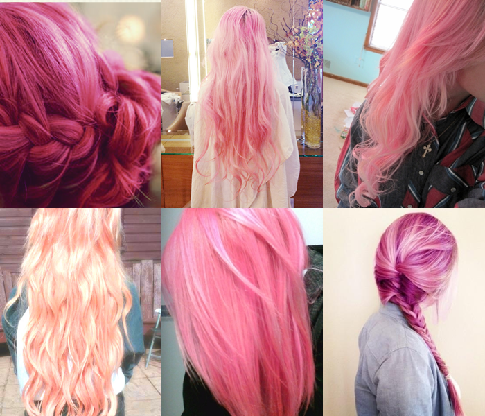 Pretty Pink Hairstyles For Long Hair Pictures Photos And Images