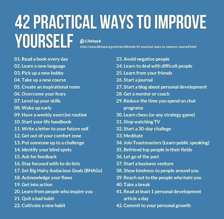 15 Most Practical Ways To Improve Yourself