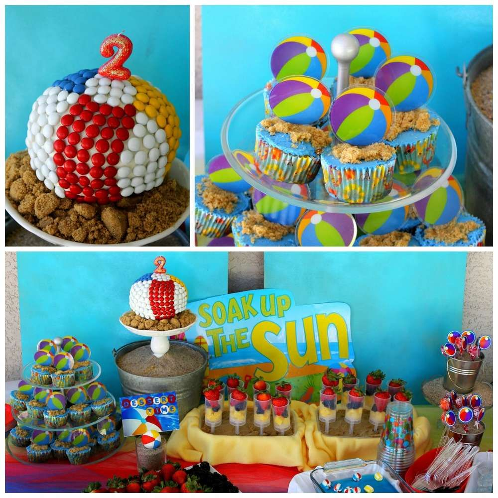 Beach Birthday Party Pictures, Photos, And Images For