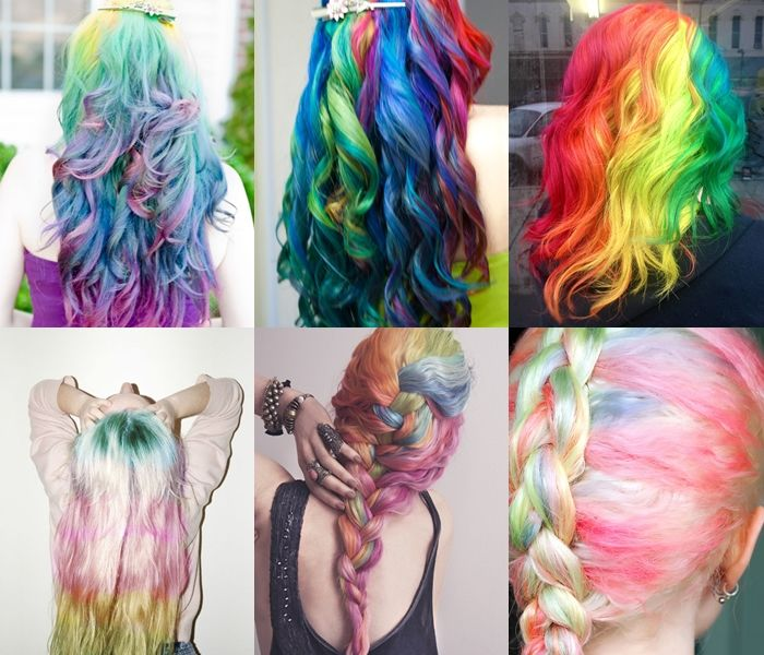 Rainbow Ombre Hairstyles Pictures Photos And Images For