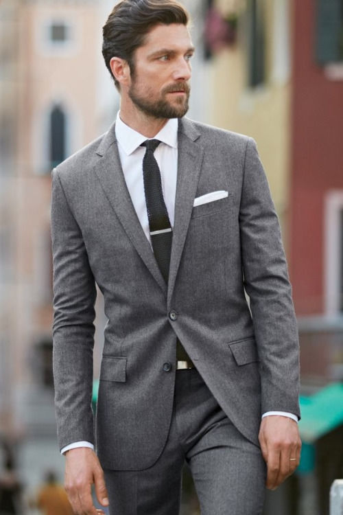 Slim Grey Suit Pictures, Photos, and Images for Facebook, Tumblr