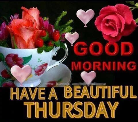 Good Morning Have A Beautiful Thursday Pictures, Photos