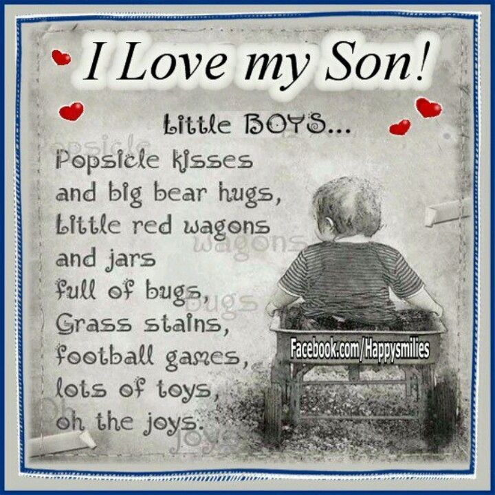 Mom And Son Quotes Pictures: I Love My Son Pictures, Photos, And Images For Facebook