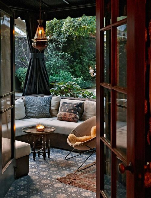 Cozy outdoor room pictures photos and images for - Outdoor room ideas pinterest ...