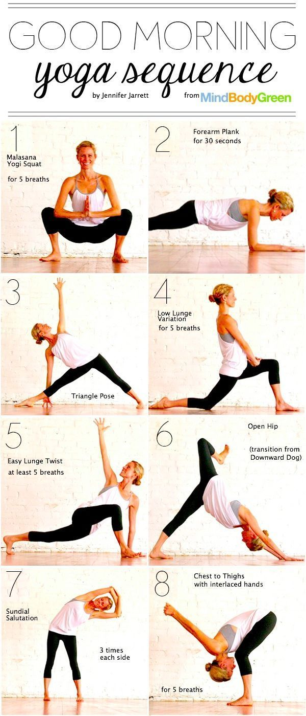 Yoga Moves In The Morning