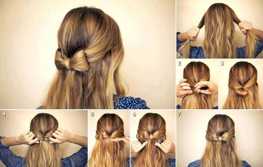 Superb Diy Hair Bow Hairstyle Pictures Photos And Images For Facebook Short Hairstyles Gunalazisus
