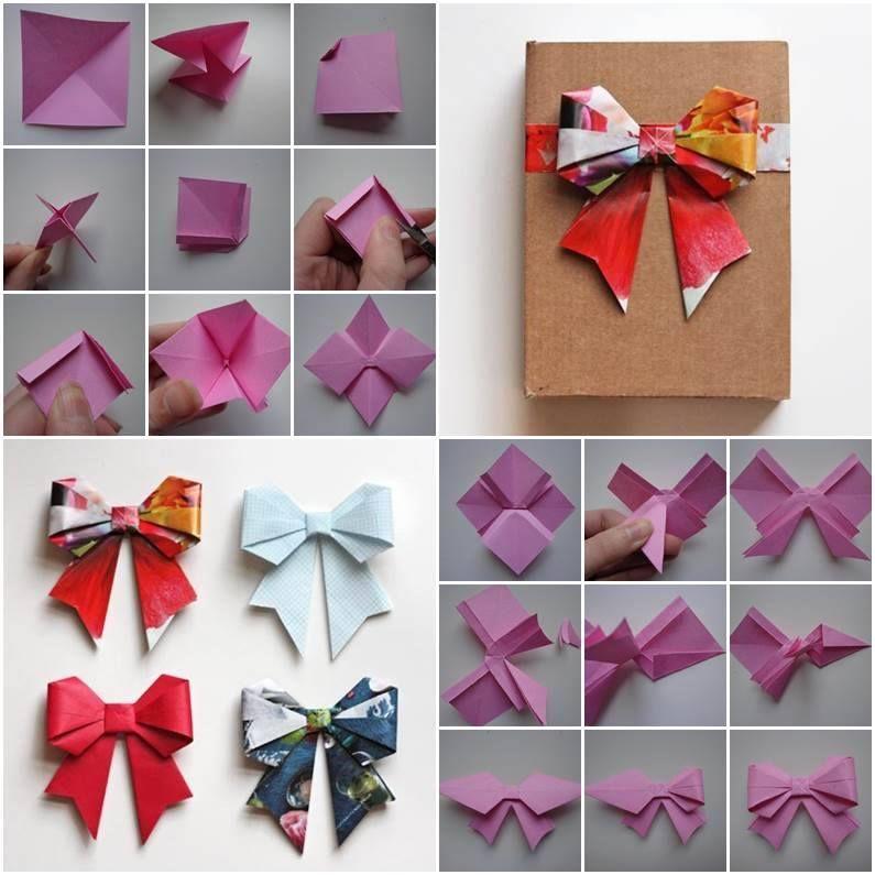 DIY Easy Origami Bow