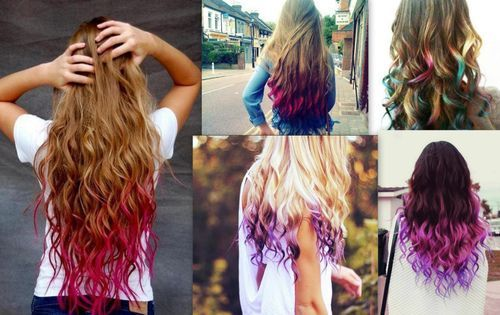 Dip Dye Ombre Hair Pictures, Photos, and Images for Facebook, Tumblr ...