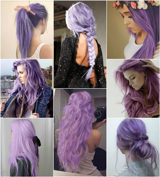 Swell Purple Hairstyles Pictures Photos And Images For Facebook Short Hairstyles Gunalazisus