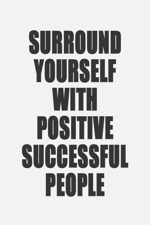 How to surround yourself with successful people