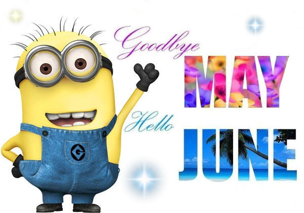Image result for goodbye may hello june