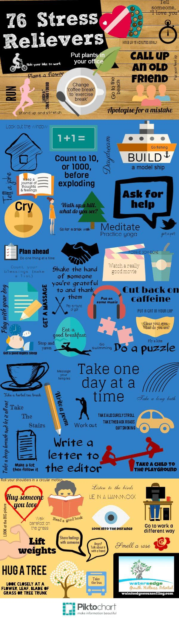 76 Stress Relievers