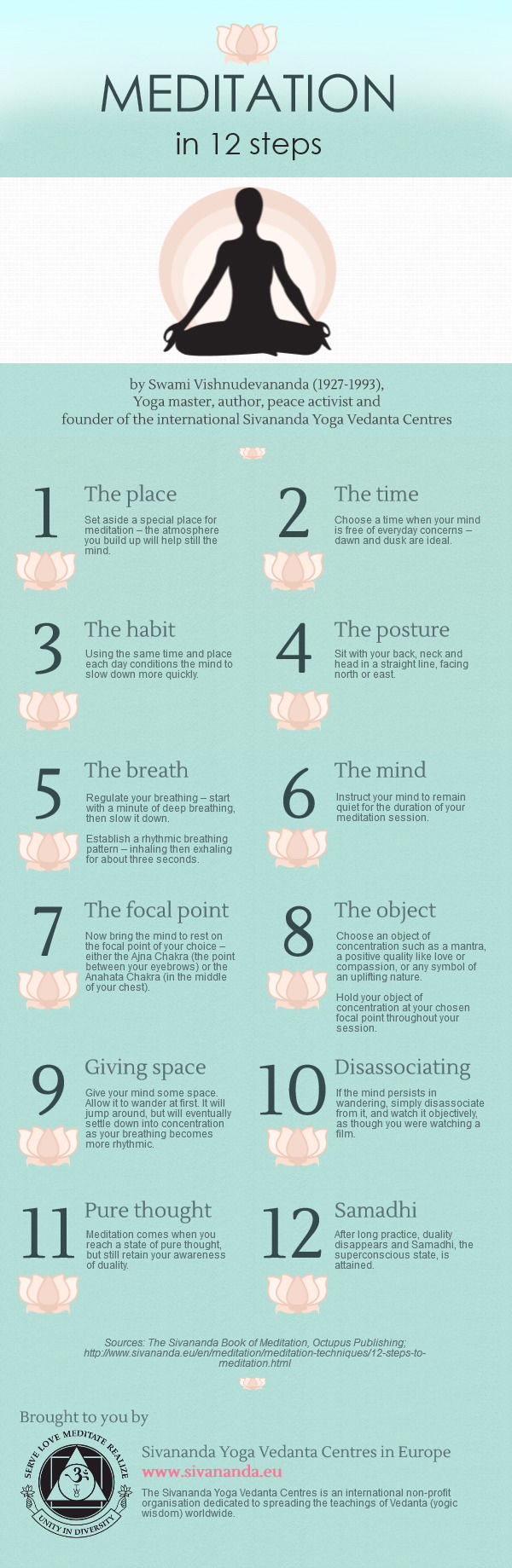 Meditation In 12 Steps Pictures Photos And Images For