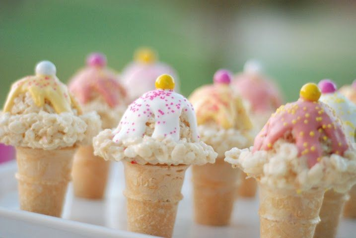 Rice Krispies Ice Cream Cones Pictures, Photos, and Images for ...