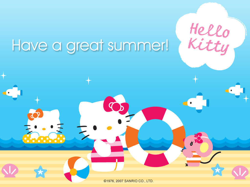 Top Wallpaper Hello Kitty Summer - 177655-Have-A-Great-Summer  Pic_76755.jpg