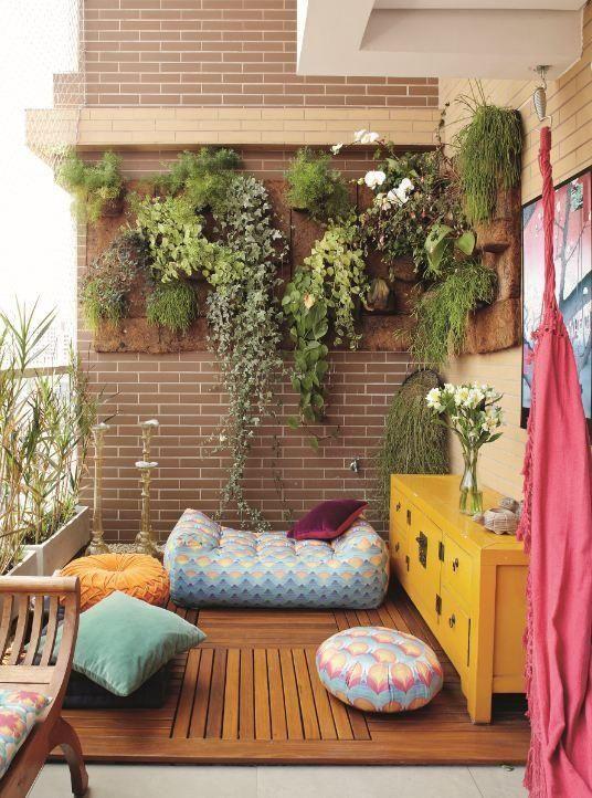 balcony garden. Balcony Wall Garden