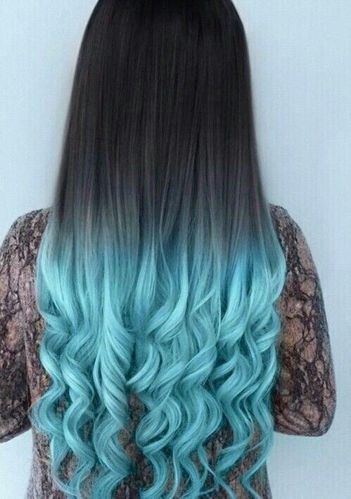 Black And Blue Ombre Hair Pictures Photos And Images For Facebook