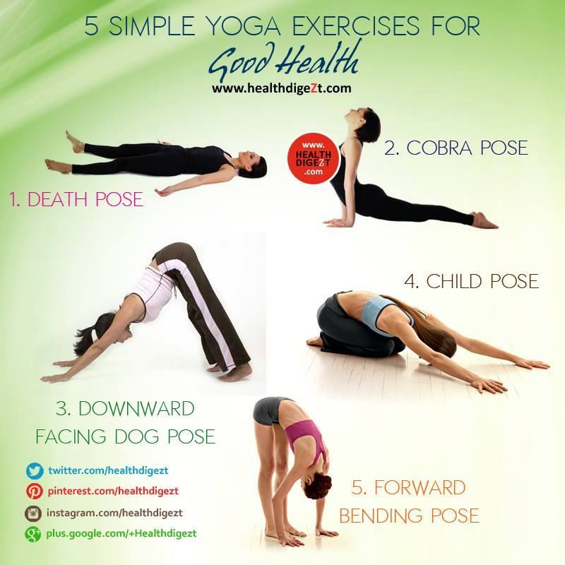 simple yoga exercises for good health pictures photos and images