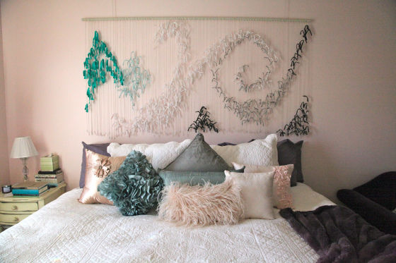Tied Fabric Headboard Pictures Photos And Images For Facebook