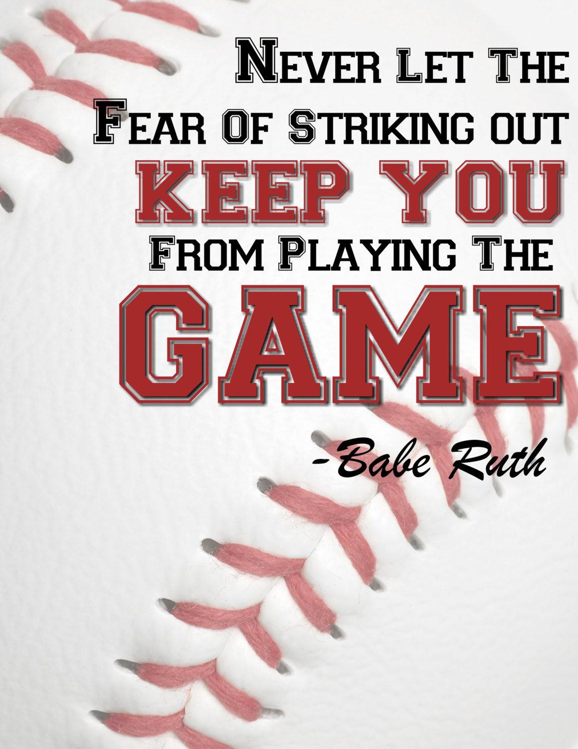 Baseball Love Quotes Babe Ruth Quote Pictures Photos And Images For Facebook Tumblr