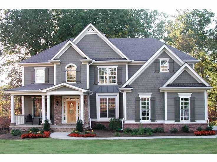 Simple classic house style pictures photos and images for Brand new house plans