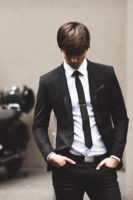 Slim Black Suit Pictures Photos And Images For Facebook