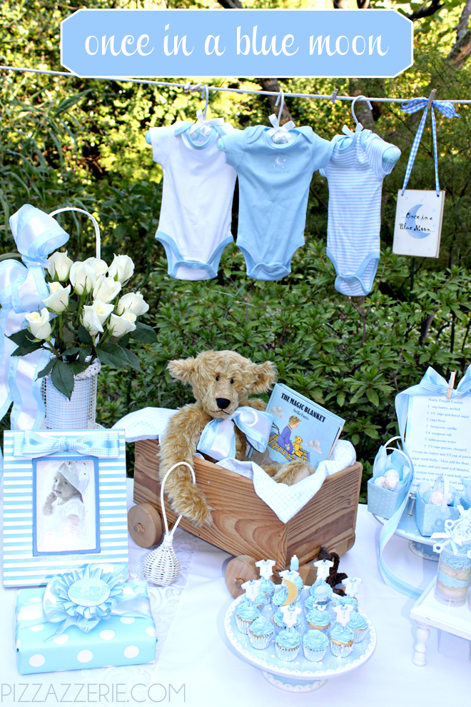 once in a blue moon baby shower theme pictures photos and images for