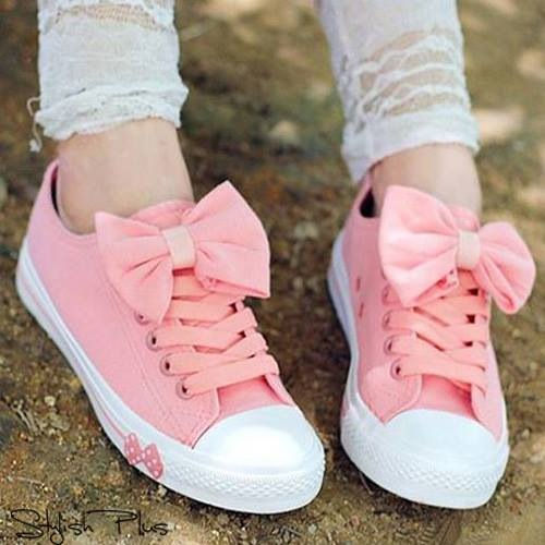 And Images With Bows Converse Pictures Shoes Pink For Photos zZYAawxq