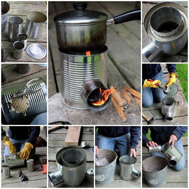 Diy Rocket Stove Pictures Photos And Images For Facebook
