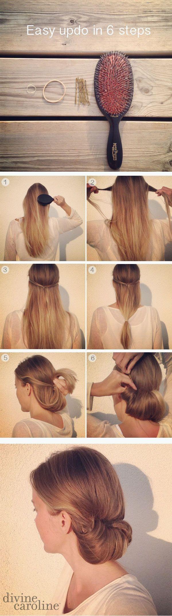 Прически длинные волосы быстро своими руками фото