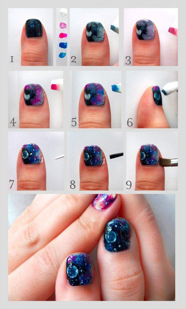 Galaxy Nail Design Pictures Photos And Images For Facebook Tumblr