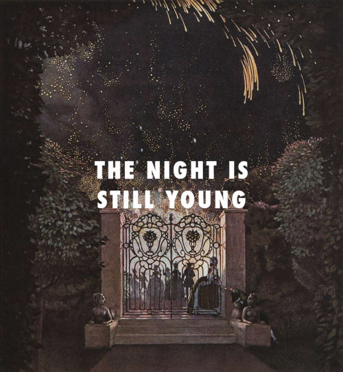The Night Is Still Young Nicki Minaj Album Cover
