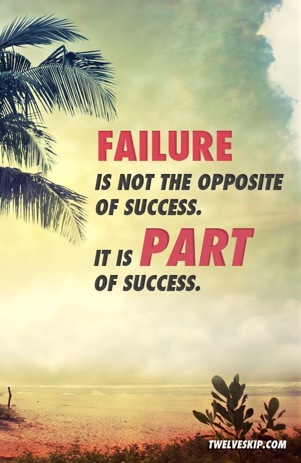 Motivational Quotes About Success: Failure Is Part Of Success Pictures, Photos, And Images