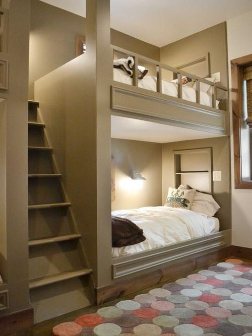 Bunk Beds With Stairway To The Top