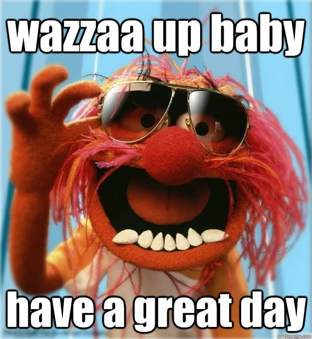 410 Best Muppet Love Images On Pinterest: Wazzaa Up Baby Have A Great Day Pictures, Photos, And