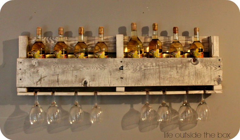 pallet wine rack pictures photos and images for facebook tumblr pinterest and twitter. Black Bedroom Furniture Sets. Home Design Ideas