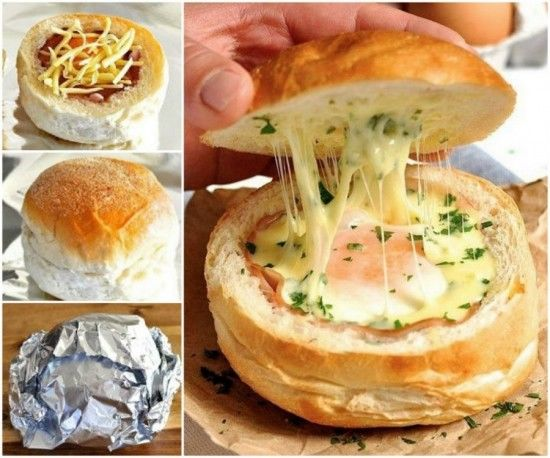 Ham egg and cheese bread bowls recipe pictures photos and images ham egg and cheese bread bowls recipe forumfinder Choice Image