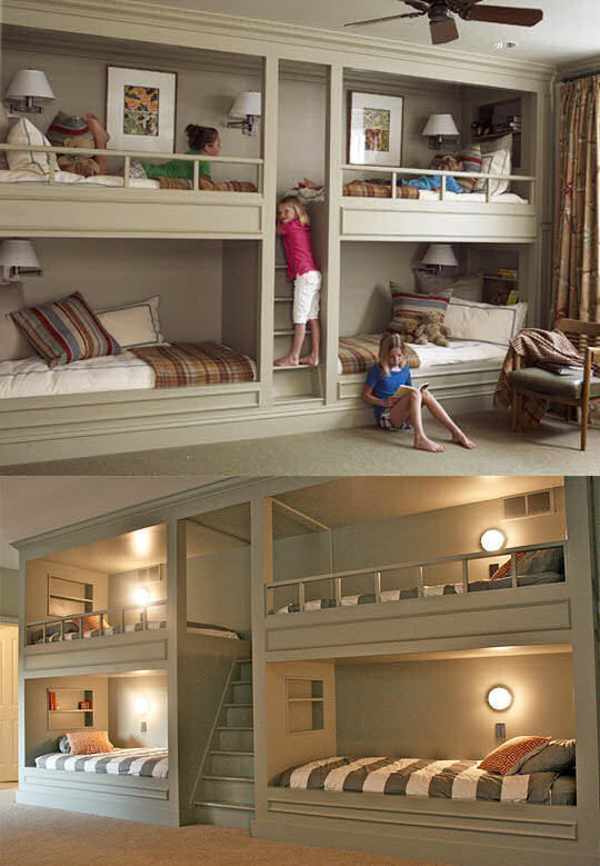 The Coolest Bunk Beds Idea For Kids