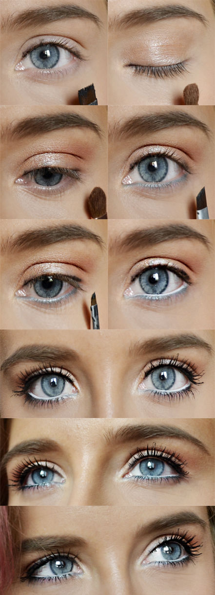 Eye Makeup Tutorial For Blue Eyes Pictures Photos And Images For