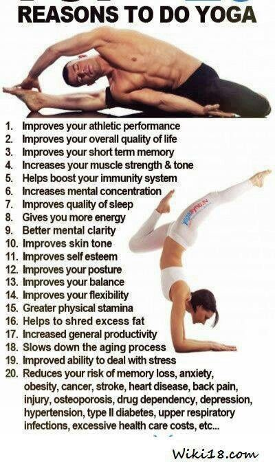 Reasons Both Men And Women Should Do Yoga
