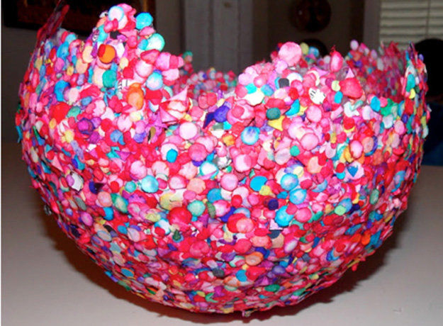 Balloon bowl pictures photos and images for facebook for Good arts and crafts
