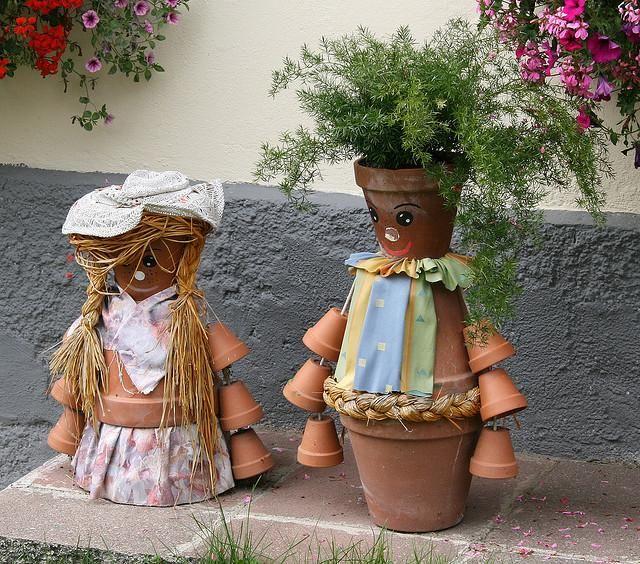 Résultat d'images pour gifs pots de fleurs décorés