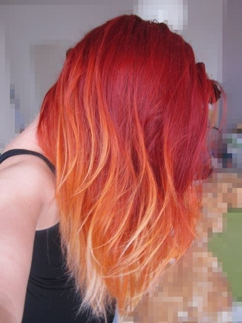 Red Ombre Hairstyle Pictures, Photos, and Images for Facebook ...