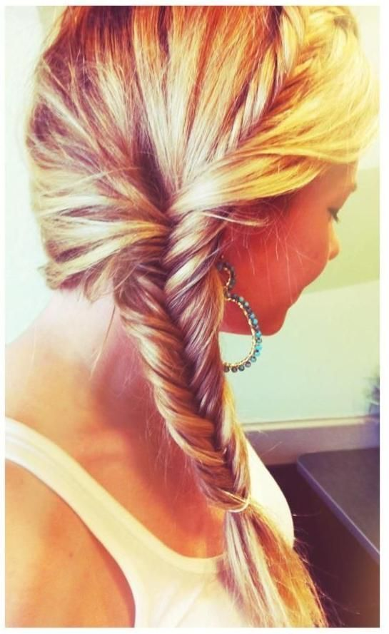 Cute French Fishtail Braid Pictures Photos And Images For Facebook