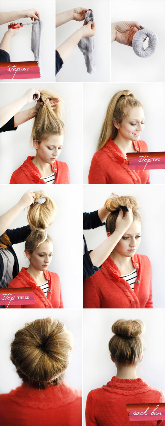 Diy Sock Bun Pictures Photos And Images For Facebook