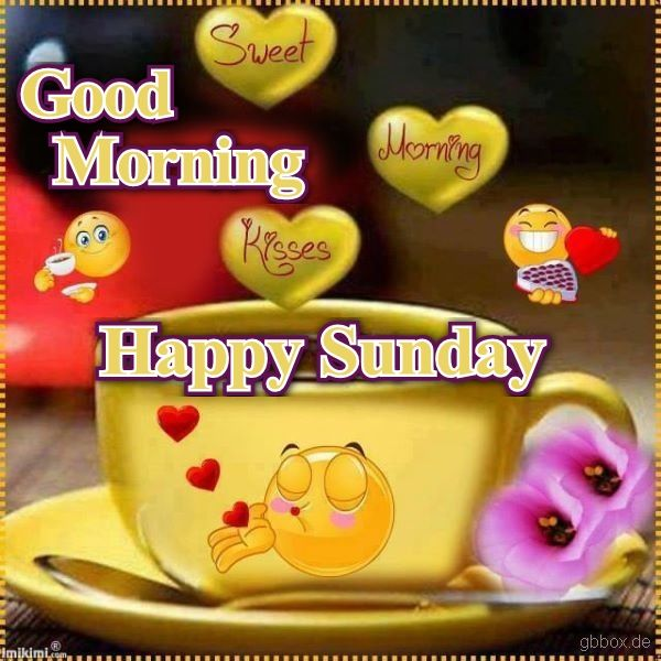 Good Morning And Happy Sunday Quotes : Good morning happy sunday pictures photos and images for