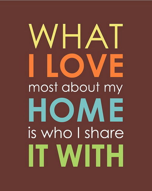 what i love most about my home is who i share it with pictures  photos  and images for facebook