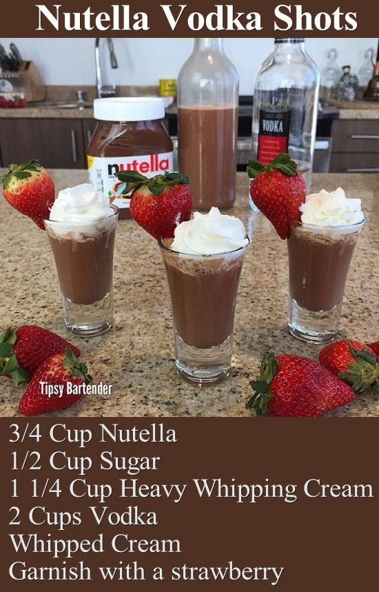 Vodka Shots Tumblr Nutella Vodka S...