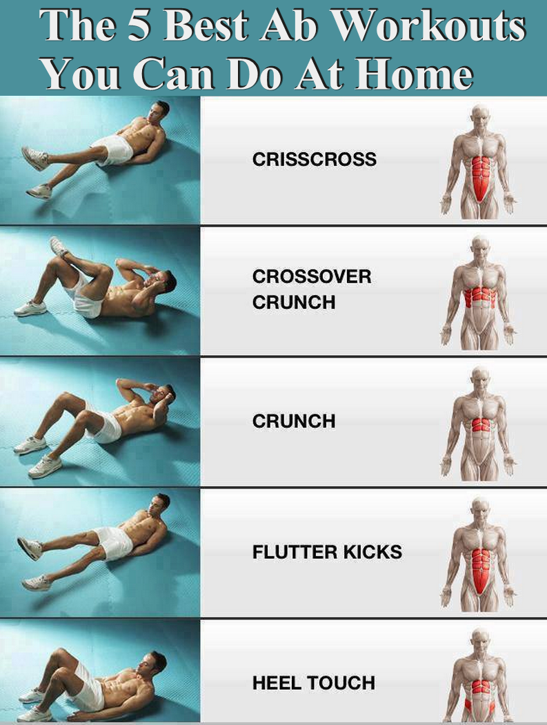 abs workout at home pdf